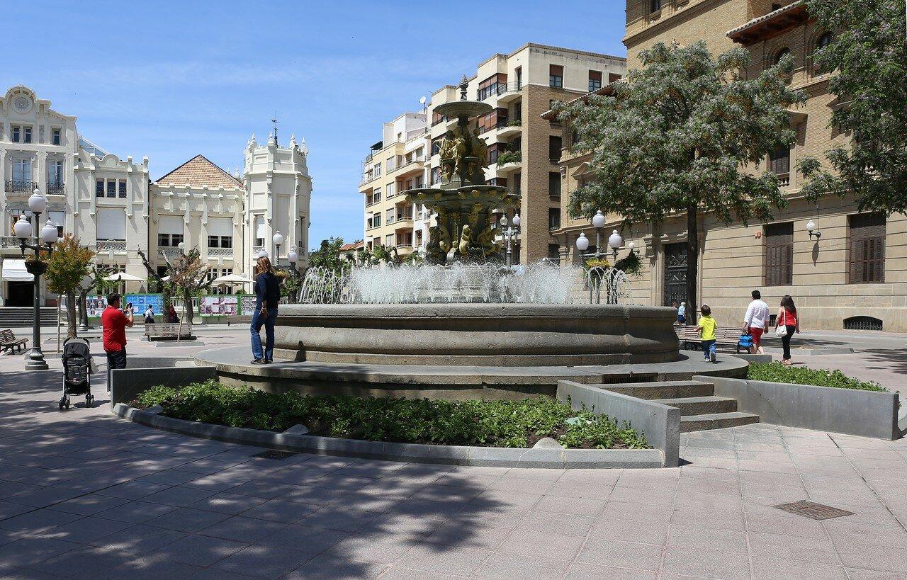 Huesca, Fountain of the Muses (La Fuente de las Musas)