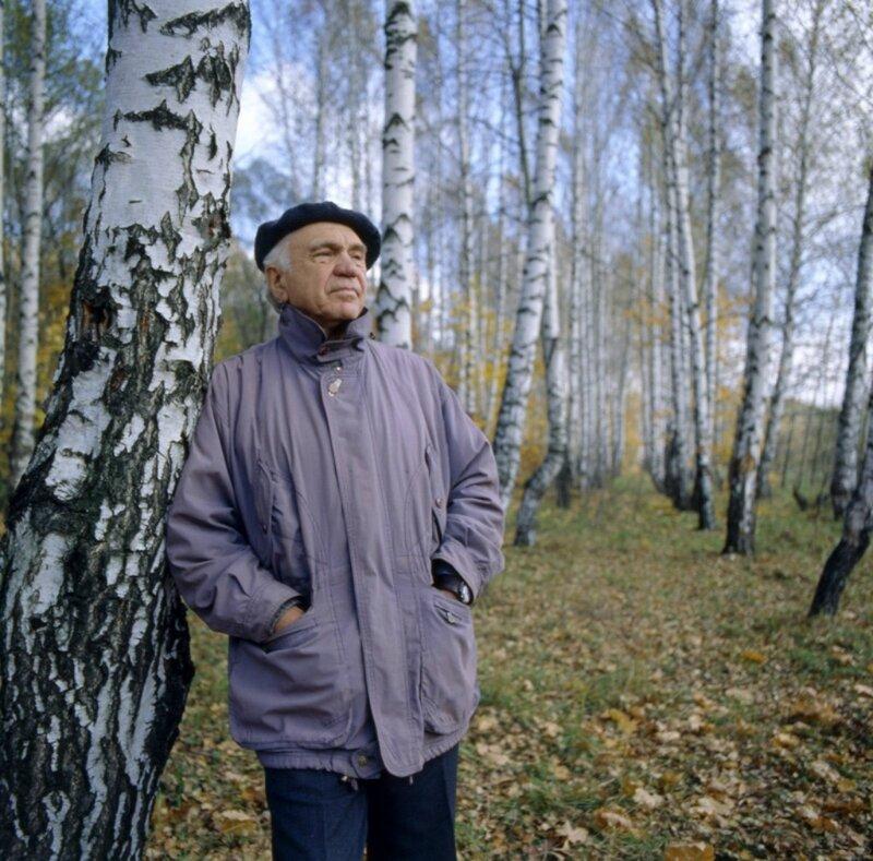 Евгений Рябинский. Фото Б. и А. Ладыгиных. 2001