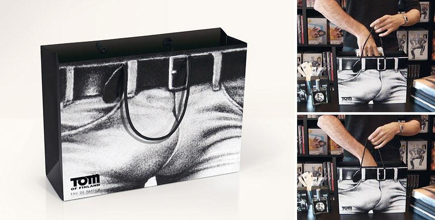 10. Чисто мужской пакет. Кстати, автор дизайна — Том оф Финланд — финский художник-гомосексуалист.