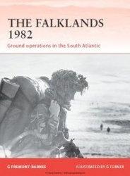 Книга The Falklands 1982 (Osprey Campaign 244)