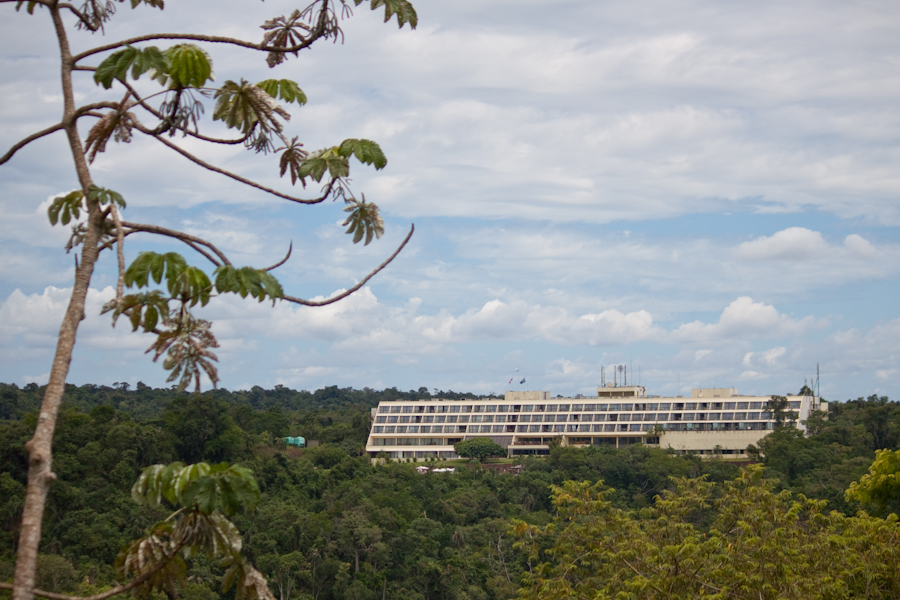 Бразилия, водопад Игуасу