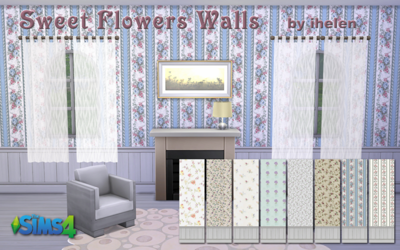 Sweet flowers Walls by ihelen