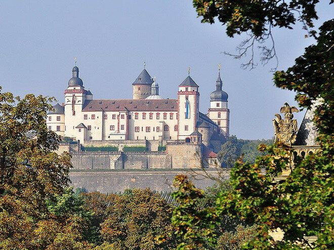 Крепость Мариенберг. Германия