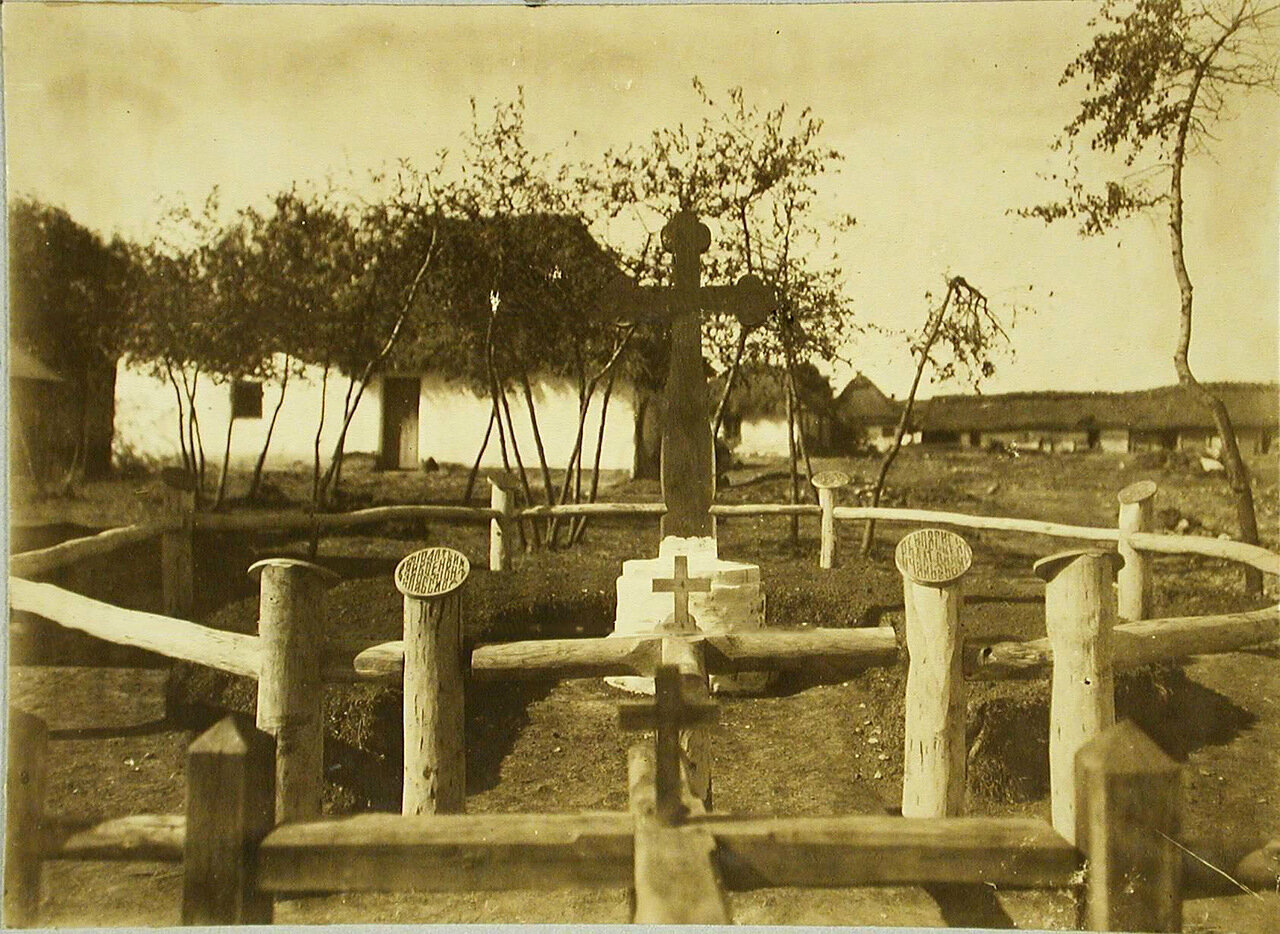 25. Общий вид второго братского кладбища. Галиция, с.Жуковцы