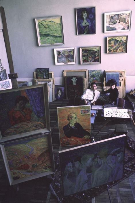 Тбилиси. Муж и жена художники