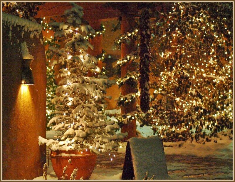 Сказочный вечер накануне Рождества...