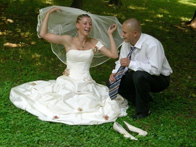 веселенькая невеста