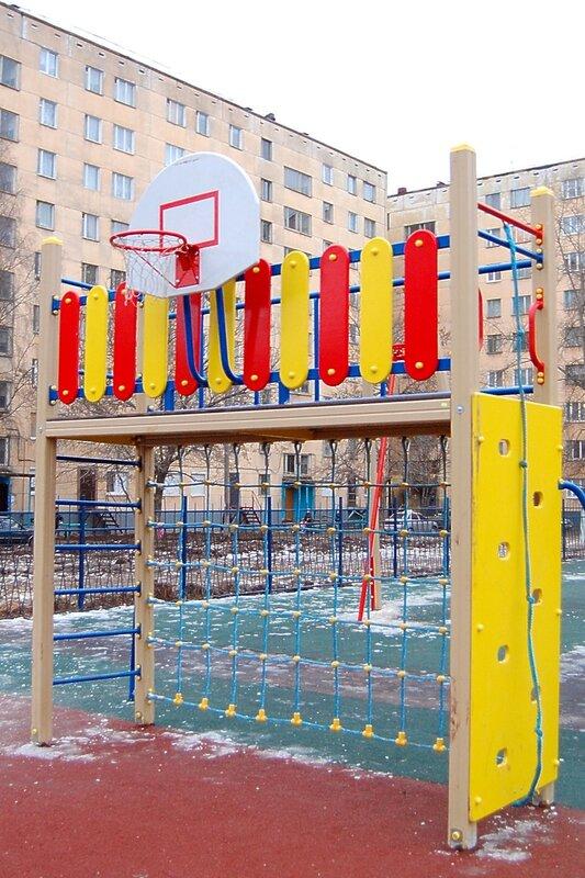 Открытие детского игрового городка