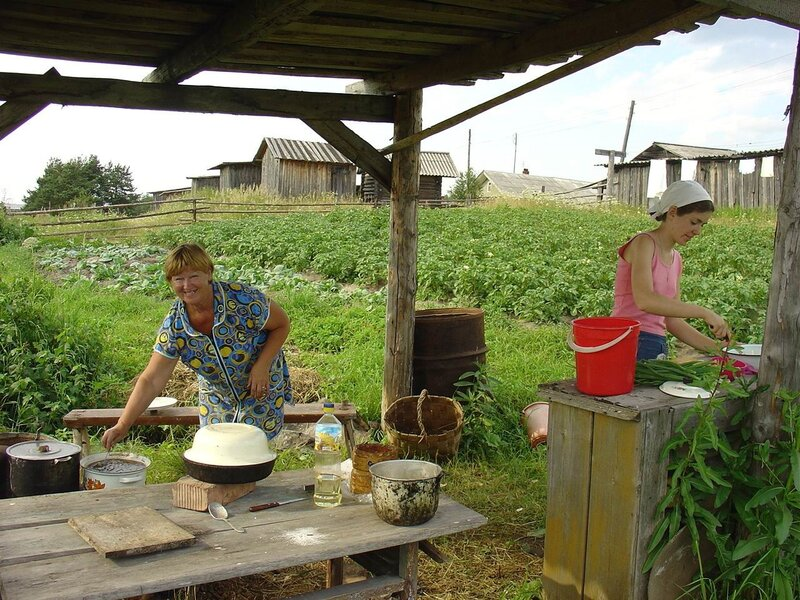 Дача летняя кухня своими руками фото