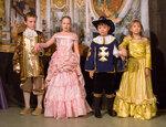 Король, Королева, Де Тревиль и Констанция