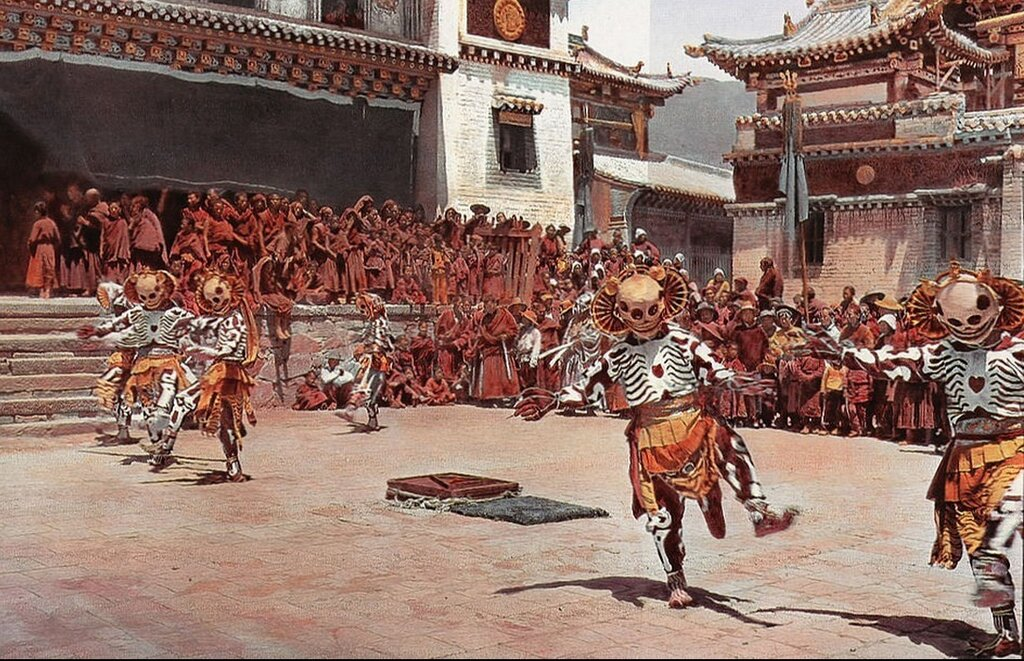 Tibetan Skeleton Dancers, 1925.jpg