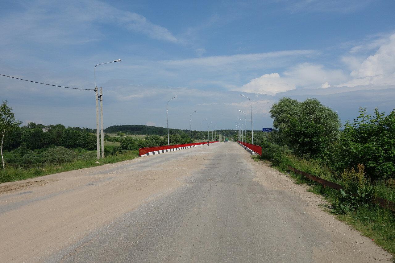 мост через реку Угра у Товарково
