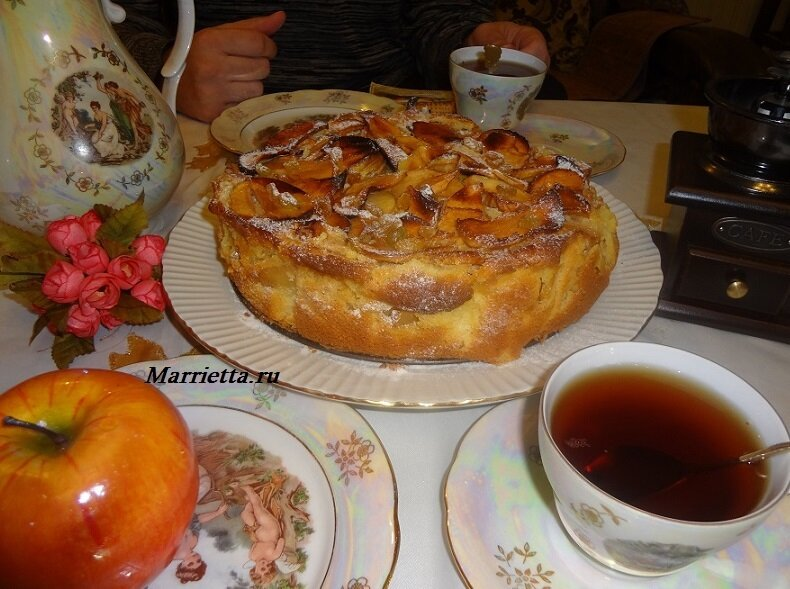 яблочный пирог2