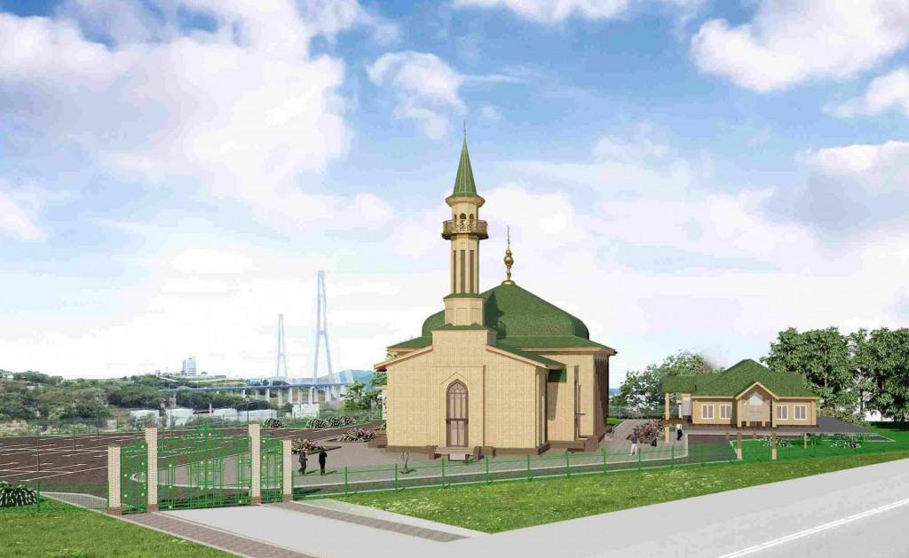 казанская мечеть владивосток, проекты владивостока