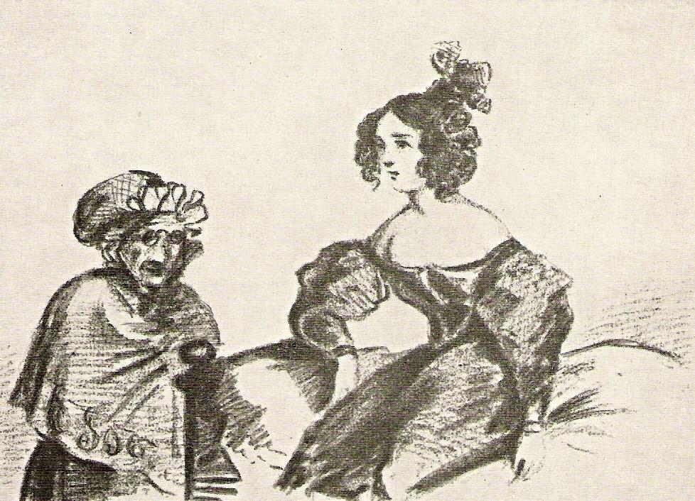 РМолодая женщина и старуха, 1832—1834 гг.jpg