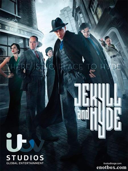 Джекилл и Хайд (1 сезон: 1-10 серии из 10) / Jekyll & Hyde / 2015 / ПМ (BaiBaKo) / WEB-DLRip + WEB-DL (720p)