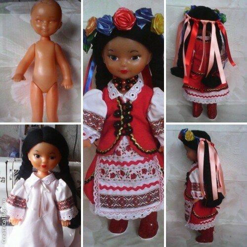 Реставрация кукол ссср
