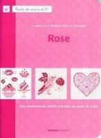 Журнал Point de croix et cie rose