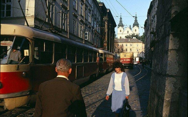 Львов. 1988 год.