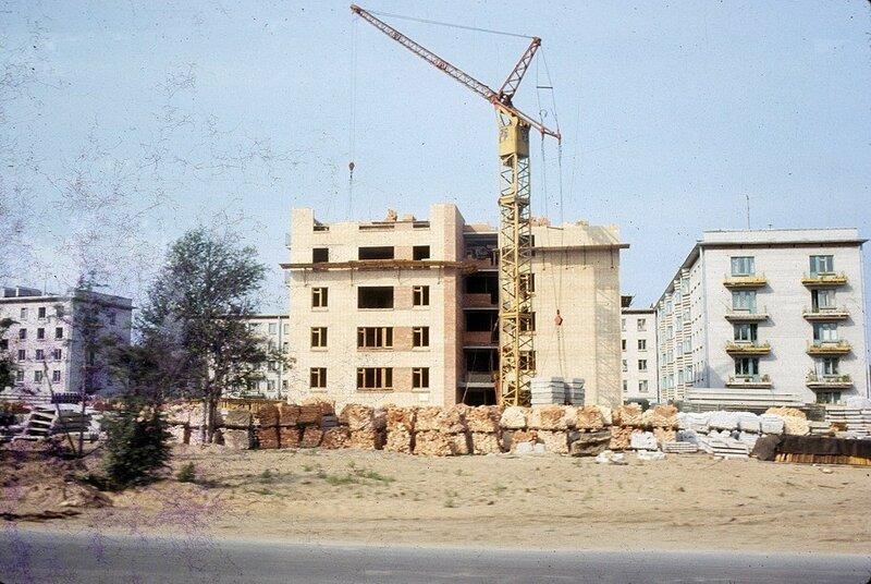 Строительство в Выборге, 1965