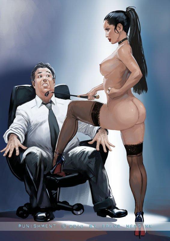 Рисованное порно в разрезе 19 фотография