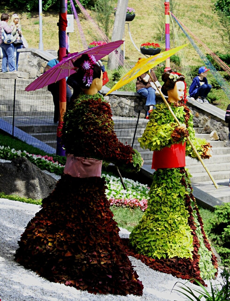 """Выставка цветов """"Япония глазами Украины"""""""