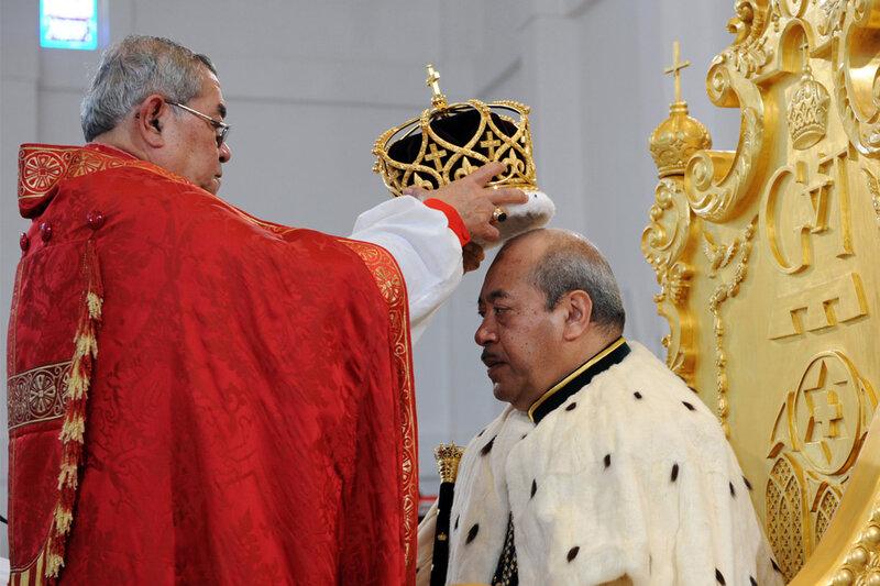 Новый король Тонга
