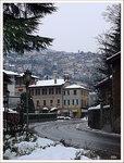 Ларио в снегу. Черноббио.