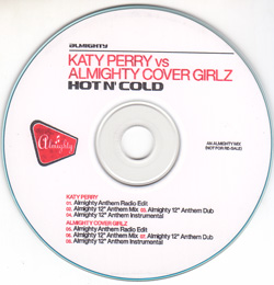 Katy_Perry_Vs_Almighty_Cover_Girlz-Hot_And_Cold-(Promo_CDR)-2008-WRE