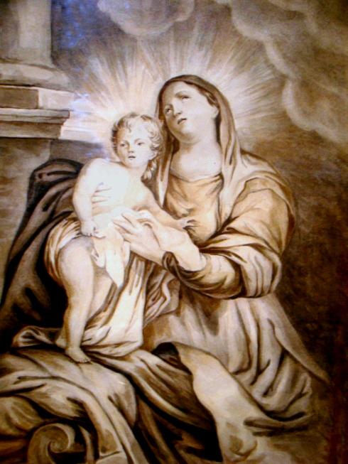 Мадонна с младенцем — рисунок 17-лето Лермонтова.jpg
