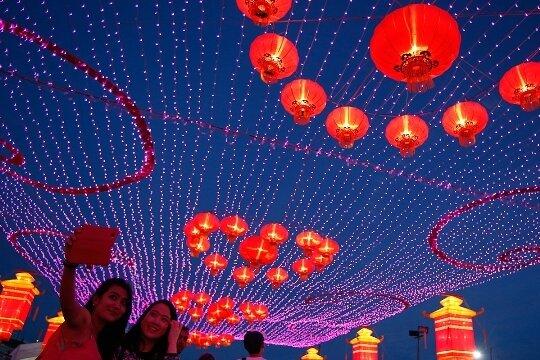 Пришел китайский Новый год