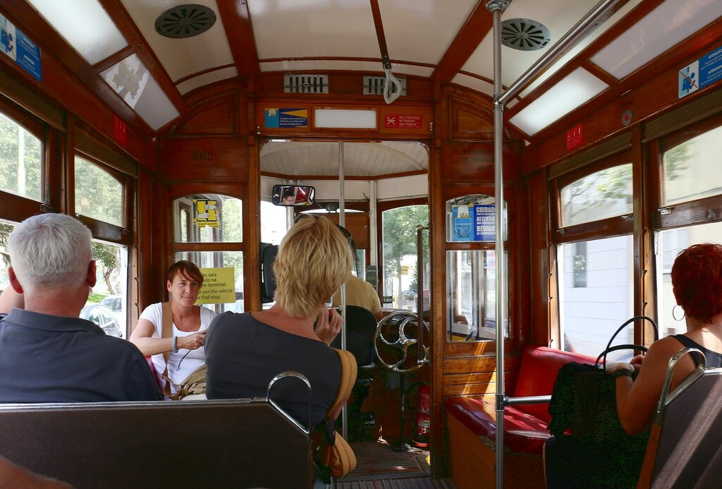 Lisbon. Tram
