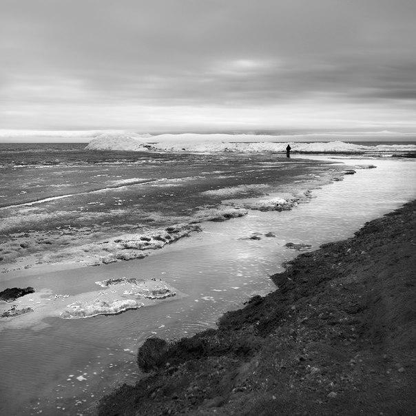 художественная фотография черно белая одиночество уединение