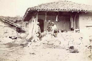 Заброшенный дом, военный фотограф Франц Душек, Горна Студена, 1877.