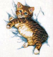 Журнал Схема вышивки Kitten 238-551 jpg + xsd +pdf 14Мб