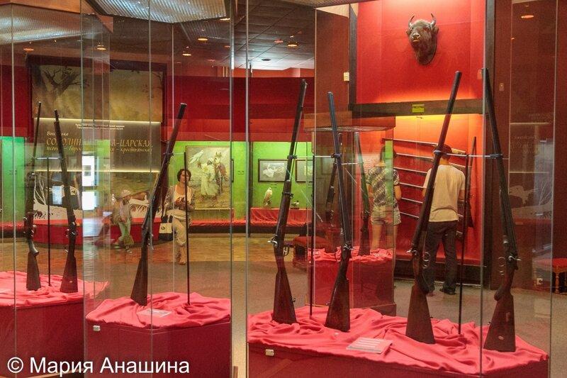 Тульский музей оружия, экспозиция