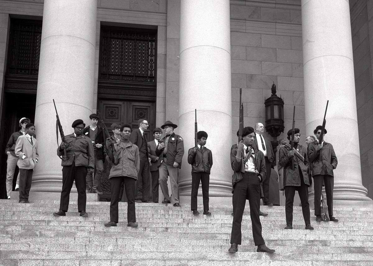Социальные конфронтации в США 1960-х - 1970-х годов: Леворадикальная Партия черных пантер   (1)