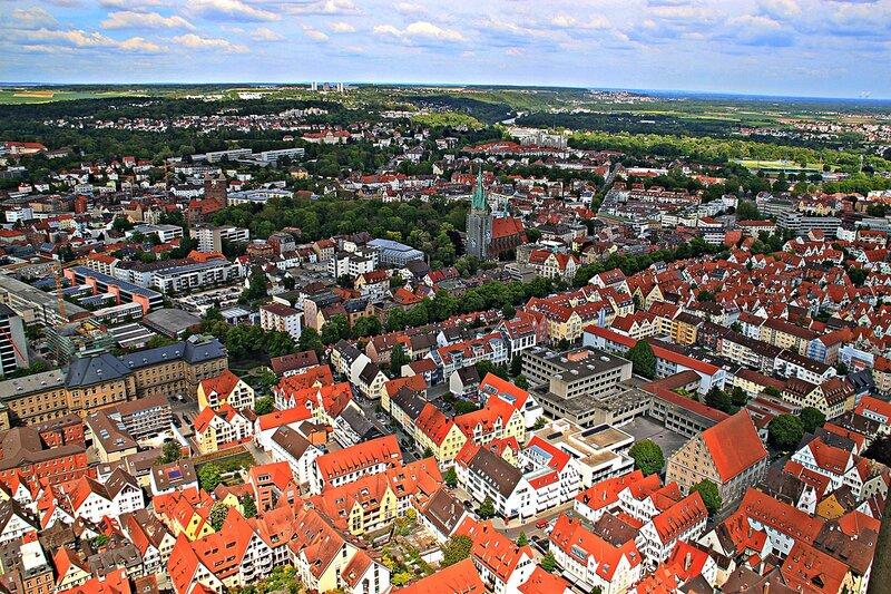 Вид на город Ульм