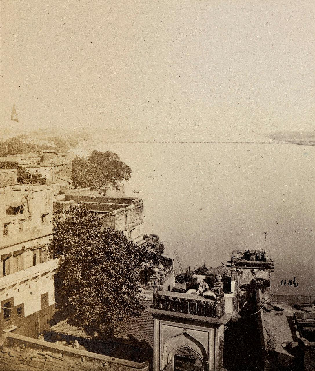 10. Ганг и лодочный мост. Калькутта