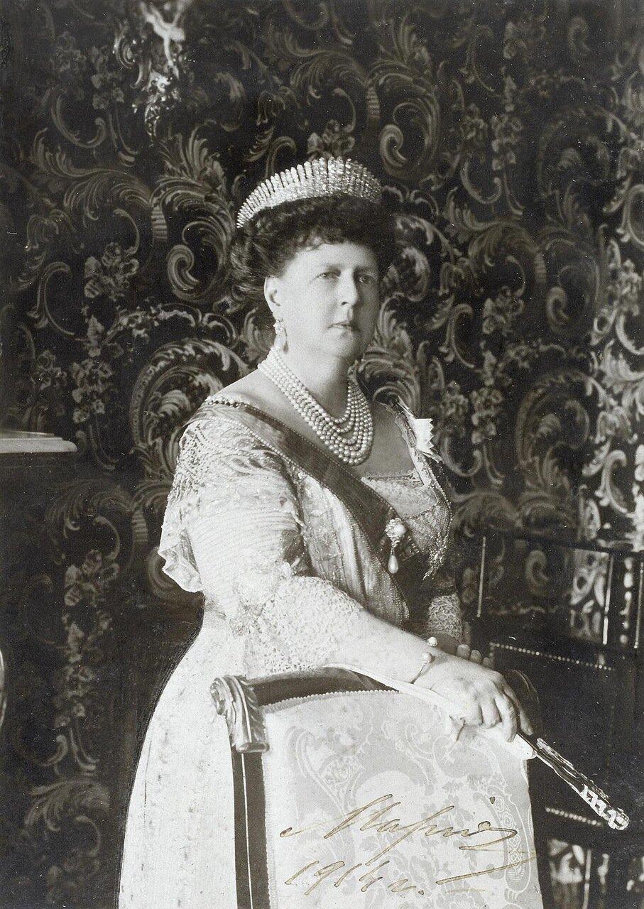 Портрет великой княгини Марии Александровны, герцогини Эдинбургской. 1914