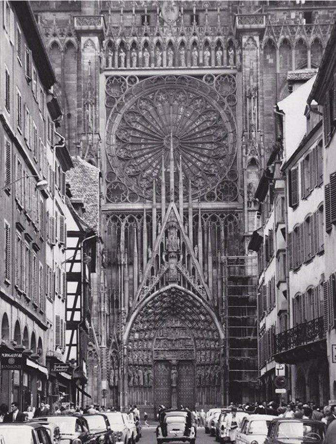 1960-е. Страсбургский собор