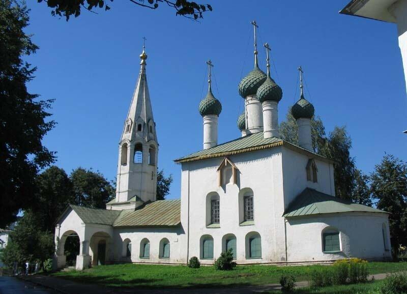 Ярославль, церковь Николы Рубленый город, 1695.