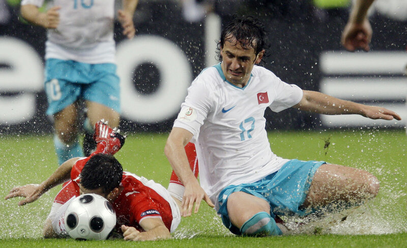 Soaked Swiss Soccer