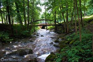 мостики через речку Карость