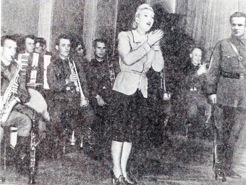 Выступление Шульженко в блокадном Ленинграде