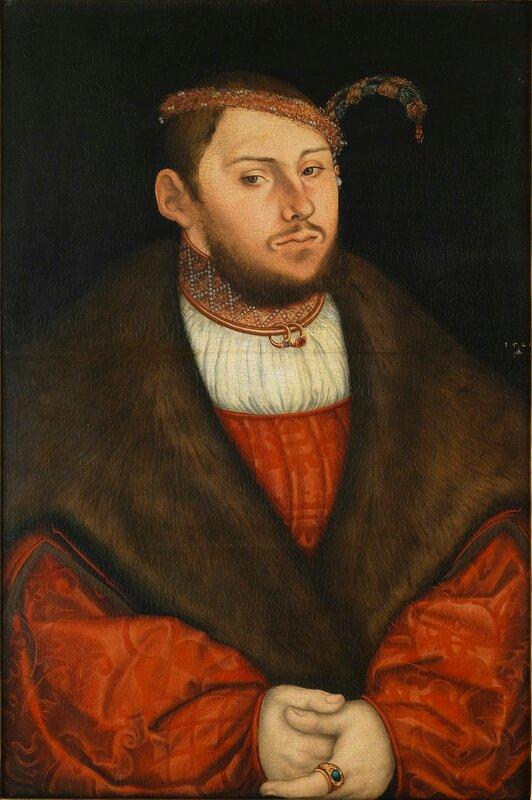 Lucas_Cranach_d.Ä._-_Kurprinz_Johann_Friedrich_von_Sachsen_(1526,_Klassik_Stiftung_Weimar) 1526.jpg