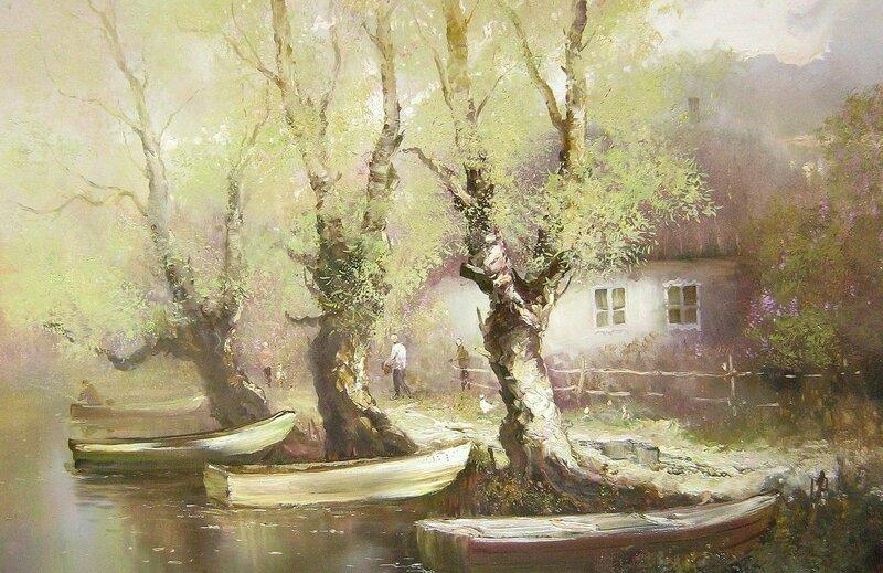 Константин Дружин. Лодки