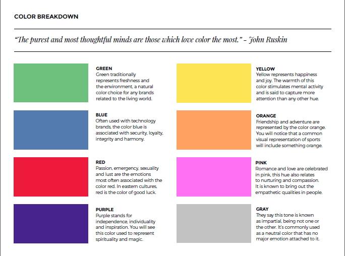 использование цветов