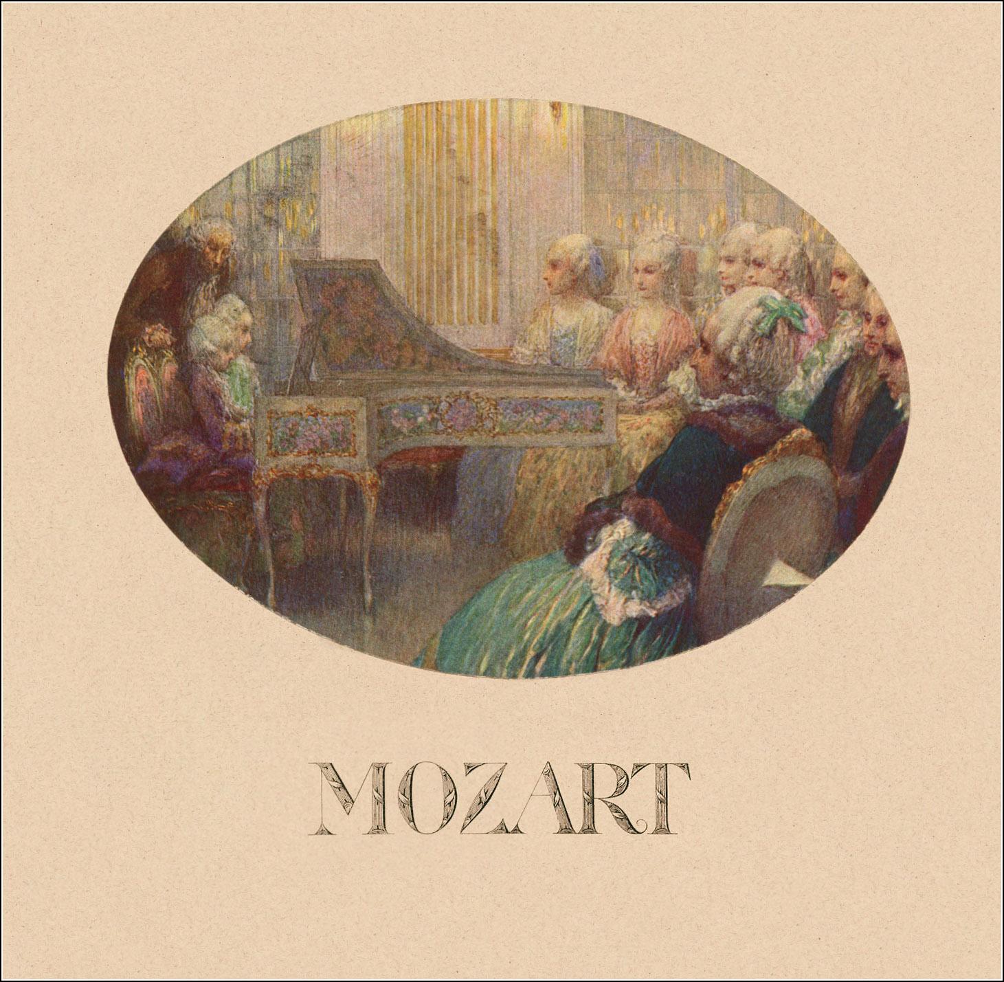 Heinrich Lefler, Mozart