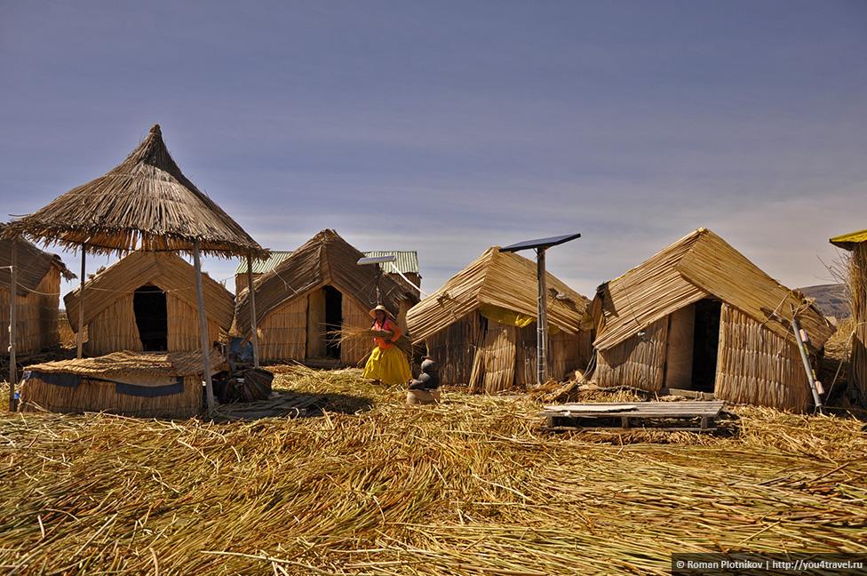 0 17907c 41536378 orig Высокогорное озеро Титикака и город Пуно